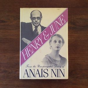 "Anais Nin ""Henry And June"""